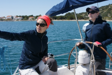 SeeFrauen Segeltraining für Frauen Skippertraining